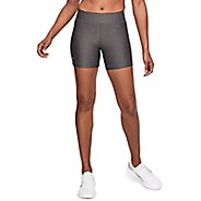 Womens Under Armour HeatGear Middy Unlined Shorts
