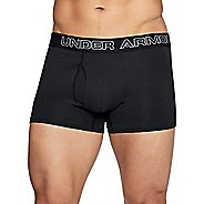 Mens Under Armour Charged Cotton 3-inch 3pk Jock Underwear Bottoms