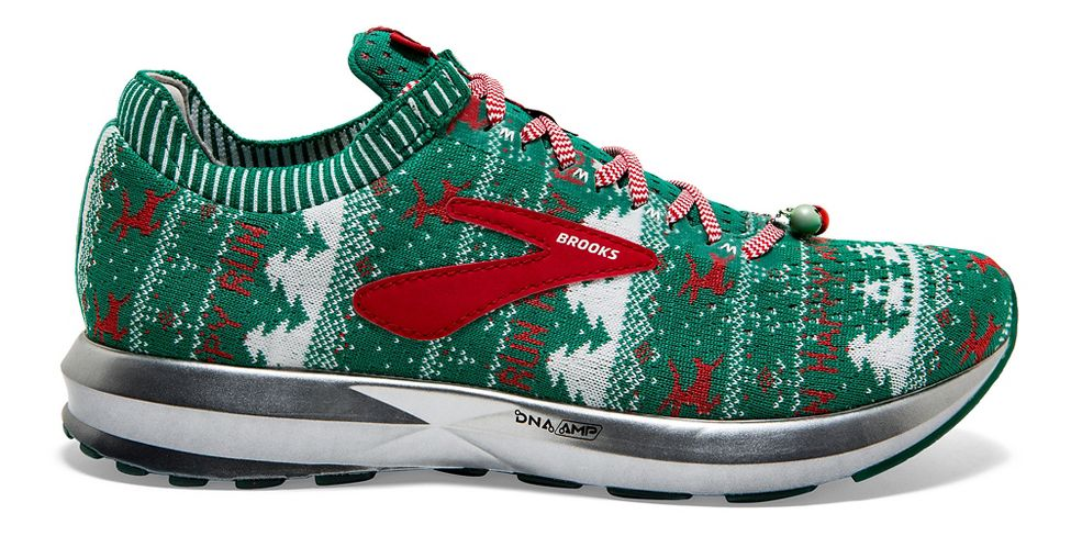 brooks ugly sweater shoes