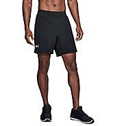 Mens Under Armour Speedpocket Swyft 7-inch Unlined Shorts - Black/Black XXL