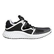 Womens Adidas Run Lux Clima Running Shoe - Black/White/White 8