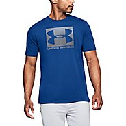 Mens Under Armour Boxed Sportstyle Short Sleeve Non-Technical Tops