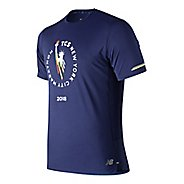 Mens New Balance NB Ice 2.0 Short Sleeve Technical Tops