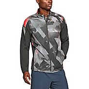Mens Under Armour Storm Out and Back Print Running Jackets