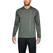 Mens Under Armour Threadborne Hoody Half-Zips and Hoodies Technical Tops