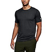 Mens Under Armour Threadborne Elite Short Sleeve Technical Tops