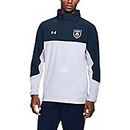 Mens Under Armour USA Woven Half-Zips and Hoodies Technical Tops