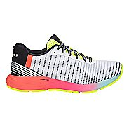 Womens ASICS DynaFlyte 3 Running Shoe - White/Multi 11