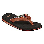Womens Sanuk Yoga Mat 2 Prints Sandals Shoe