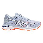 Womens ASICS GT-2000 7 Running Shoe - Black/Skylight 10
