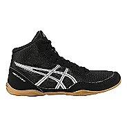Kids ASICS Matflex 5 Wrestling Shoe - Black/Silver 6Y