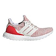 Womens adidas Ultra Boost Running Shoe - White/Red 6.5