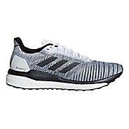 Mens adidas Solar Drive Running Shoe - Grey/Black 9.5