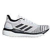 Womens adidas Solar Drive Running Shoe - White/Black/Grey 6.5
