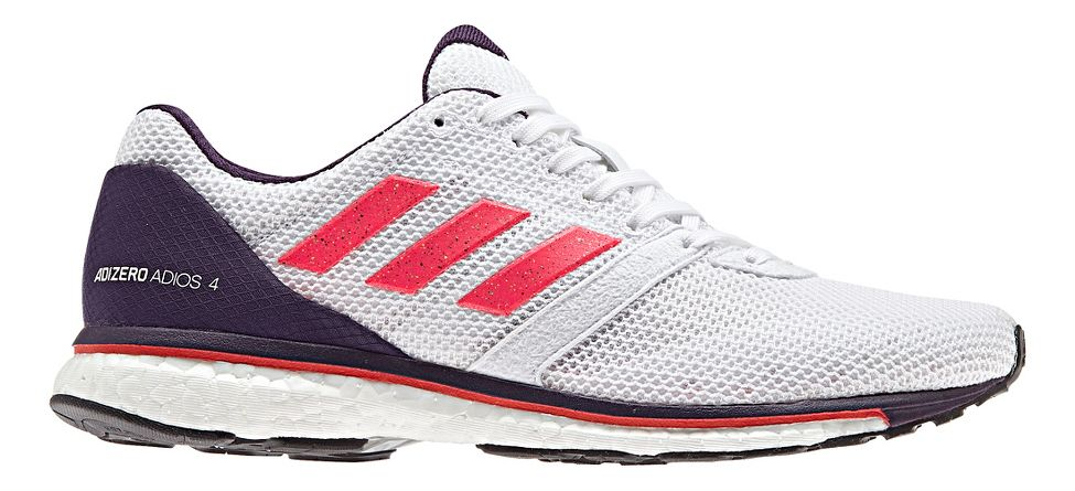 premium selection ec7c8 ea63d Womens adidas Adizero Adios 4 Running Shoe at Road Runner Sp