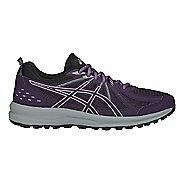 Womens ASICS Frequent Trail Running Shoe - Night Shade/Black 6