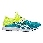 Womens ASICS GEL 451 Running Shoe - Flash Yellow/Lagoon 9