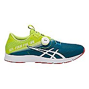 Mens ASICS GEL 451 Running Shoe - Neon Lime/White 8