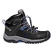 Kids Keen Torino II Mid Waterproof Hiking Shoe - Black/Baleine Blue 9C