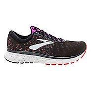 Womens Brooks Glycerin 17 Running Shoe - Black/Coral/Purple 6