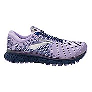 Womens Brooks Glycerin 17 Running Shoe - Purple/Navy/Grey 9.5