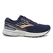 Mens Brooks Adrenaline GTS 19 Running Shoe - Navy/Gold 10.5