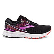 Womens Brooks Adrenaline GTS 19 Running Shoe - Black/Fuchsia 5.5