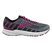 Womens Brooks Ravenna 10 Running Shoe - Grey/Wild Aster 11.5