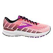 Womens Brooks Ravenna 10 Running Shoe - Coral/Purple/Black 12