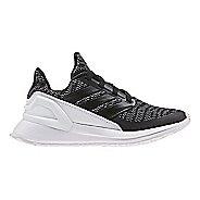 Kids adidas RapidaRun Knit Running Shoe - Black/White 12C