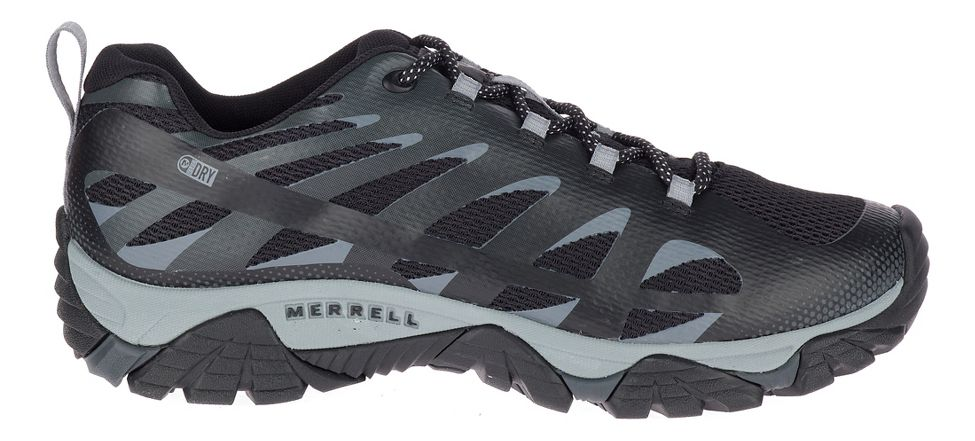 merrell moab edge 2 waterproof hiking shoes - mens outlet