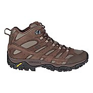 Mens Merrell MOAB 2 Smooth Mid Waterproof Hiking Shoe