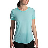 Womens Brooks Distance Short Sleeve Technical Tops