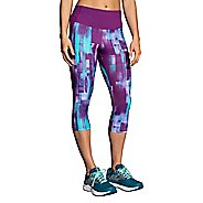 Womens Brooks Greenlight Capri Tights