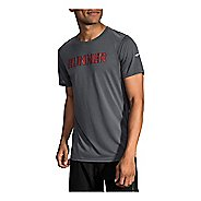 Mens Brooks Distance Graphic T-Shirt Short Sleeve Technical Tops