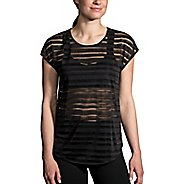 Womens Brooks Hot Shot Short Sleeve Technical Tops