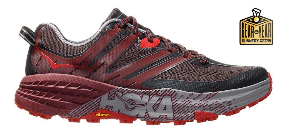 817545441 Mens Hoka One One Speedgoat 3 Trail Running Shoe at Road Runner Sports