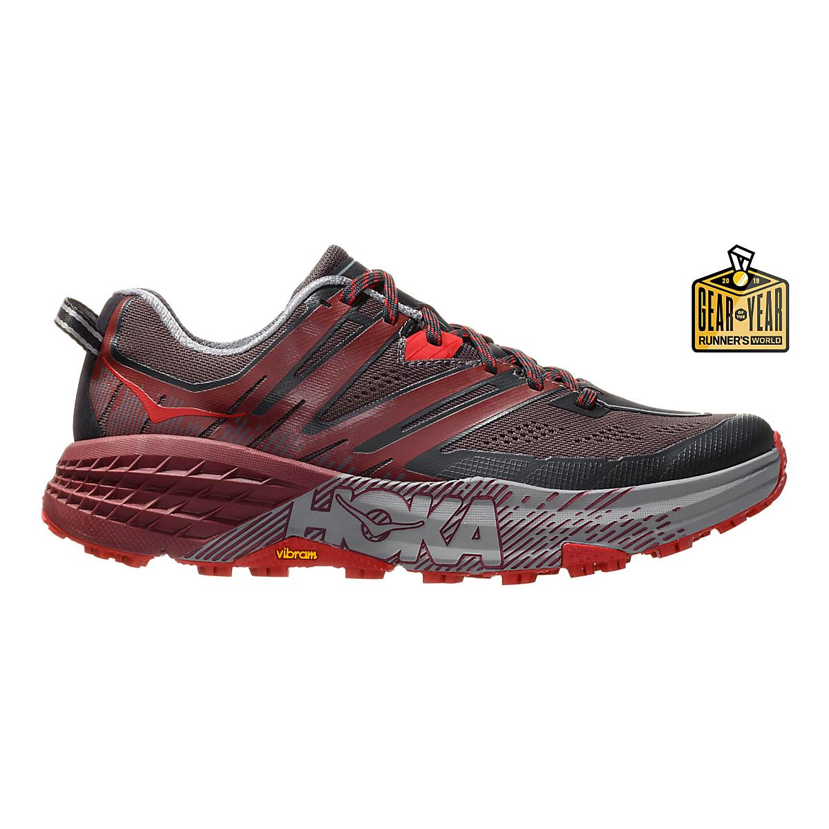 1b9f8cd9b22cd Mens Hoka One One Speedgoat 3 Trail Running Shoe at Road Runner Sports