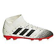 Kids adidas Nemeziz 18.3 FG Cleated Shoe - White/Black 2.5Y