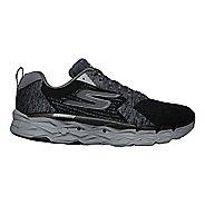 Womens Skechers GO Run Max Road 3 Running Shoe - Black/Grey 7.5