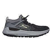 Mens Skechers GO Run Max Trail 5 Ultra Trail Running Shoe - Charcoal/Lime 10
