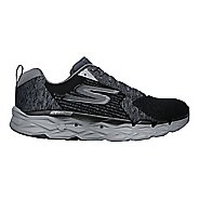 Mens Skechers GO Run Max Road 3 Running Shoe - Black/Grey 9.5