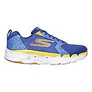 Mens Skechers GO Run Max Road 3 Running Shoe - Blue/Orange 11