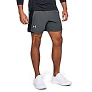 "Mens Under Armour Qualifer Speedpocket 7"" Lined Shorts"