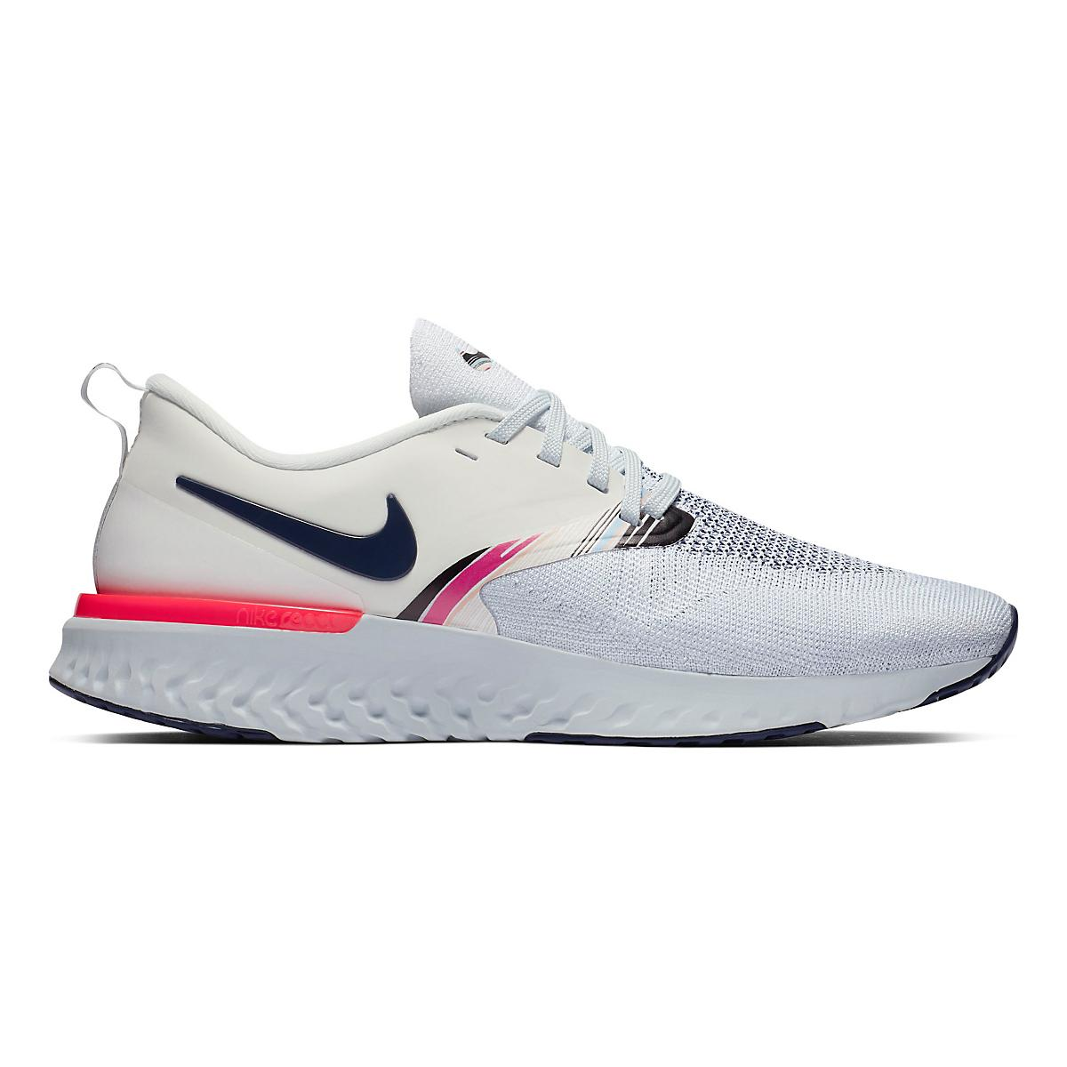 8b55c7d16b1e0 Womens Nike Odyssey React Flyknit 2 PRM Running Shoe at Road Runner Sports