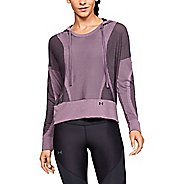 Womens Under Armour Vanish Seamless Half-Zips & Hoodies Technical Tops