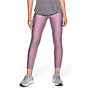 Womens Under Armour Fly Fast Raised Thread Crop Tights