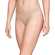 Womens Under Armour Pure Stretch 3 pack Thong Underwear Bottoms