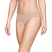 Womens Under Armour Pure Stretch Hipster 3 pack Bikini Underwear Bottoms