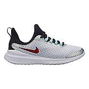 Kids Nike Renew Rival SD Running Shoe - Platinum/Black 6Y